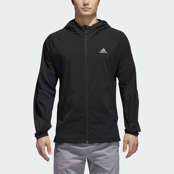 c1683288ae3 adidas Sport ID Black Jacket Men s